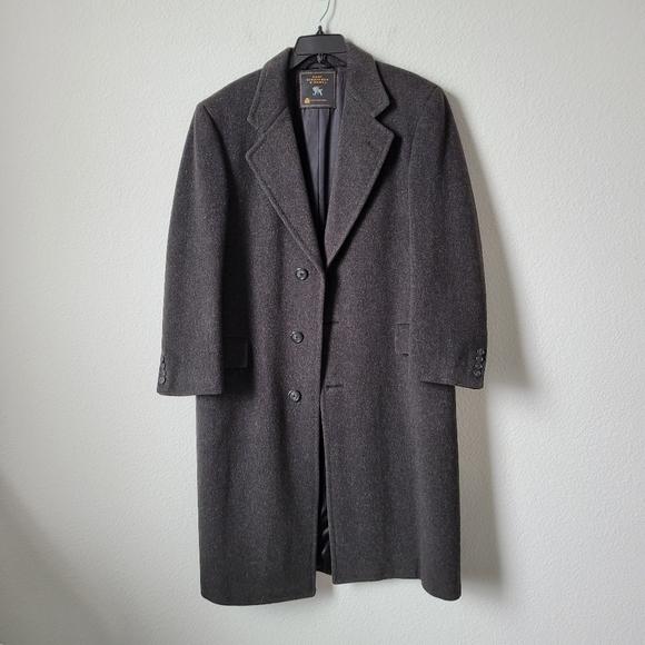 Hart Schaffner & Marx Wool Top Coat